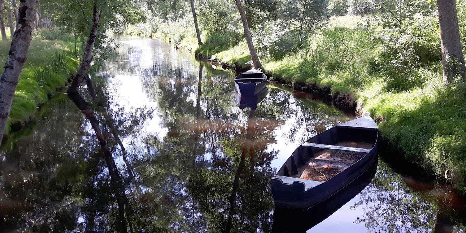 Canal-de-la-chaussée à Besné en Loire Atlantique,44