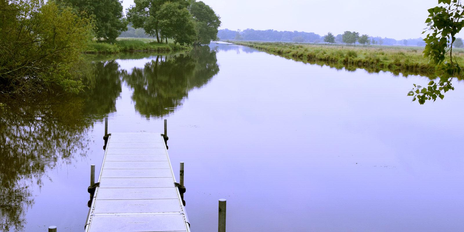 marais à Besné en Loire Atlantique,44